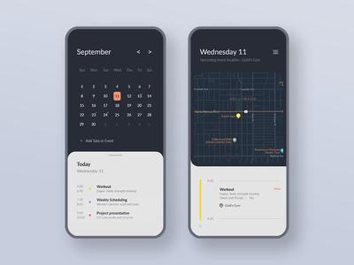 Calendar - DailyUI 038
