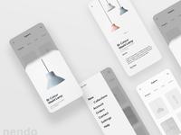 Nendo Lamps App