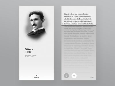 Nikola Tesla Book App