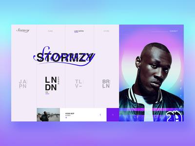 Stormzy Web
