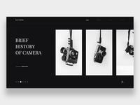 Product History Website - DailyUI 053