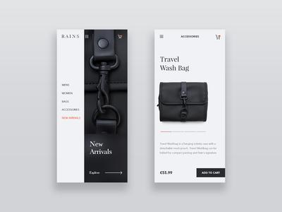 Rains Store App
