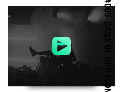 005 Daily UI - app icon