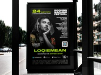 Booking Machine Festival 2019 – outdoor ads