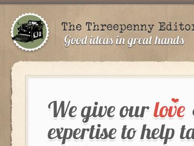 Threepenny Editor retro textured