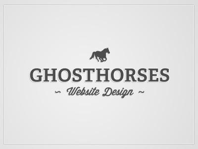 New Ghosthorses Logo Design (Draft)