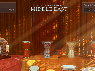 Middle East sample Library