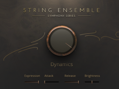 Symphony Series String Ensemble app synthesizer ux design vst interface ui piano music instrument interface design