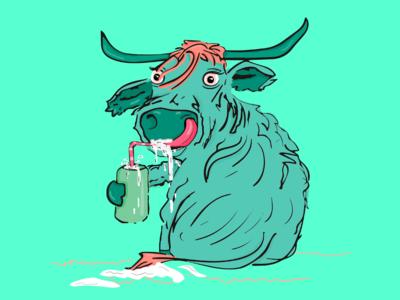 cow goes banana