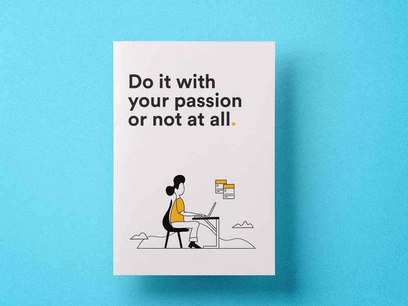 Work space inspiration | Illustration | Branding