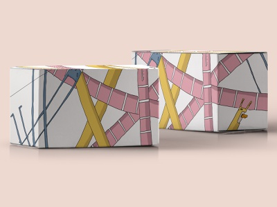 Meet Flippe, the box wrapper packaging packagedesign drawing illustration