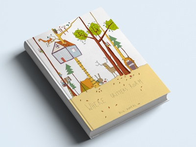 Where critters roam graphicdesign design drawing childrens book book illustration bookcover