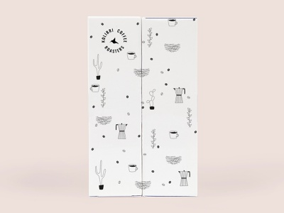 It's coffee o'clock mockup vector illustration pen drawing branding packaging vectorart illustration
