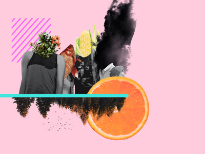 The gang mixedmedia art direction foodphotography collage photoshop photography design illustration