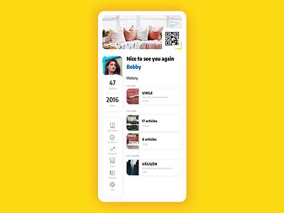 UI 006 vector dailyui app ui design