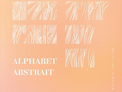 Abstract alphabet design art data typography print design data visualization dataart