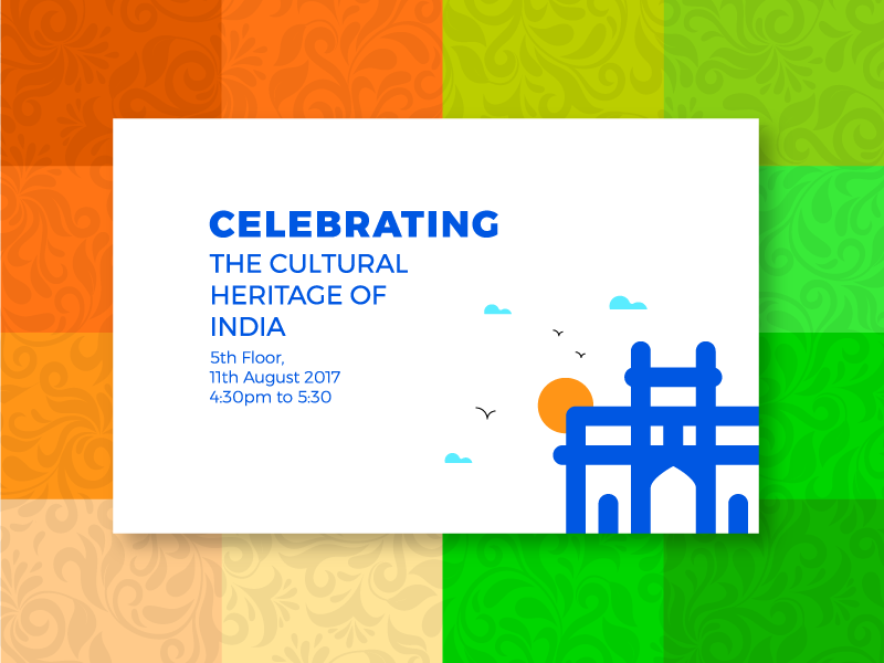 Celebrating! THE CULTURAL HERITAGE OF INDIA by Mangesh