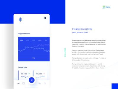 Cigna Data & Analytics Re-Brand