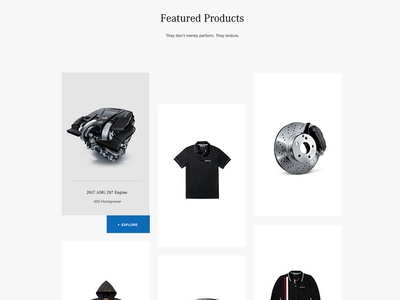 Featured Product Grid Mercedes Benz