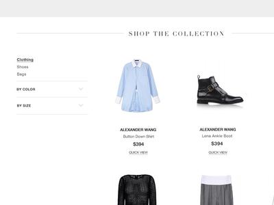 Shop the Collection Grid - Harper's Bazaar