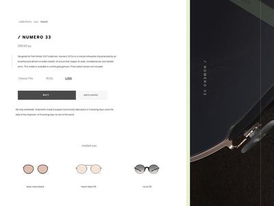 Retro Super Future Product Page Concept