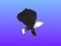 Low Poly Eagle Logo