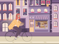 Bike ridding
