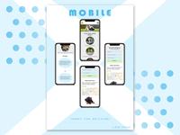 Landing page - StarDogs (Mobile)