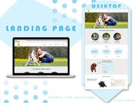 Landing page - StarDogs (Desktop)