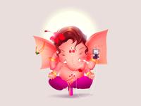 Ganesha The Elephat God