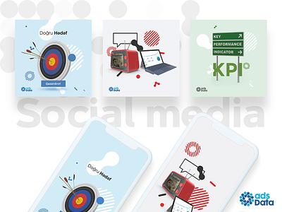 adsdata   Social Media Posts design typography illustration branding social media social
