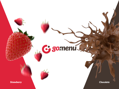 Gomenu icon type minimal illustrator logo social media illustration typography design branding
