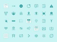 Robotic icons