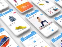 Fitness e-commerce redesign