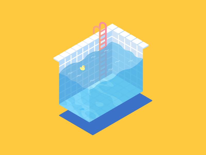 Pool isometric