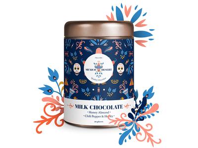 Mexico desert, Milk Chocolate