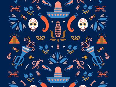Mexico Desert, pattern