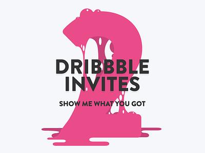 2x Dribbble Invites draft invitation invites invite free contest dribbble