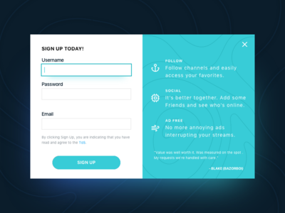 Sign Up UI Task 001 neon glow signup ui daily challenge task sign up