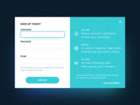 Sign Up UI Task 001