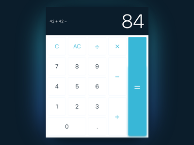 Calculator UI Task 004 challenge interface numbers ui calculator
