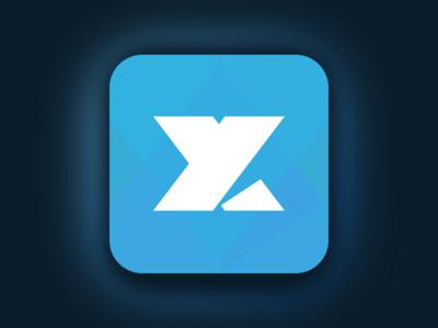 App Icon UI Task 005 challenge ui blue icon app