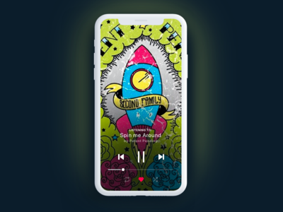Music Player UI Task 009 ui music app music player i  daily ui dailyu challenge