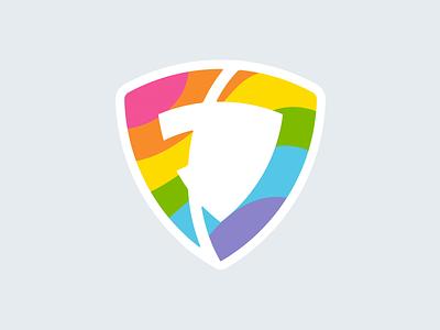 Happy Pride from FanDuel! pastel flag aftereffects logo rainbow pride fanduel
