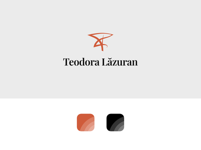 Teodora Lazuran Personal Branding logo logo design design branding