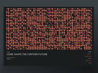 Homepage Interactive Art