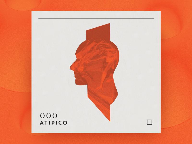 Atipico Visual Language brand illustration branding visual language design brand identity