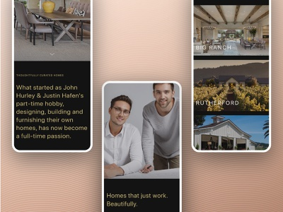 Hurley Hafen UI Design app design brand identity brand ux ui visual language