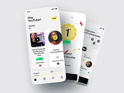 Dorm app —first attempt education mentor minimal podcast