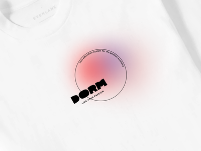 Dorm — logo alterations p1c education t-shirt logo branding